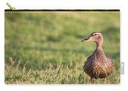 Mallard Duck Anas Platyrhynchos, Female Carry-all Pouch
