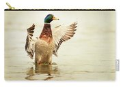 Mallard Carry-all Pouch by Everet Regal