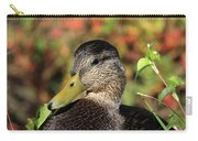 Mallard In The Fall Carry-all Pouch