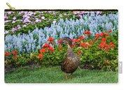 Mallard In The Garden Carry-all Pouch