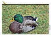 Mallard Resting Carry-all Pouch