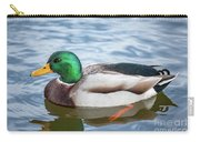 Mallard Swimming Carry-all Pouch