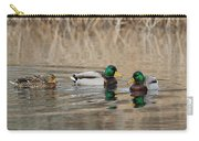 Mallards On The Pond Carry-all Pouch