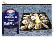 Malpeque Oyster Poster Carry-all Pouch