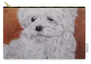 Maltese Puppy Carry-all Pouch