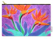 Mama And Her Chicks By Ken Tesoriere Carry-all Pouch
