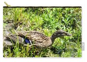 Mama Duck On Guard Carry-all Pouch