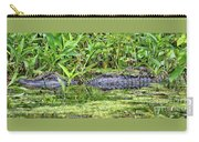 Mama Gator With Babies Carry-all Pouch