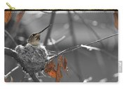 Mama Hummingbird Carry-all Pouch