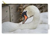 Mama Swan At Abbotsbury Carry-all Pouch