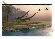 Mamenchisaurus Dinosaur Morning Carry-all Pouch