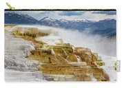 Mammoth Hot Springs In Yellowstone National Park, Wyoming. Carry-all Pouch