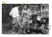 Man And Woman In Fishing Gear Carry-all Pouch