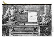 Man Drawing A Lute 1523 Carry-all Pouch