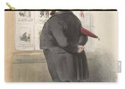 Man For A Showcase With Prints, Anonymous, 1810 - C. 1900 Carry-all Pouch