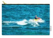 Man Jet Skiing Carry-all Pouch