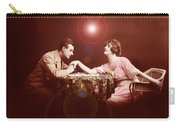 Man Kissing Womans Hand Romantic Couple Carry-all Pouch