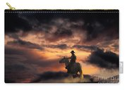 Man On Horseback Carry-all Pouch
