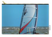 Man Wind Surfing Carry-all Pouch