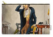 Man With Excruciating Headache, 1835 Carry-all Pouch