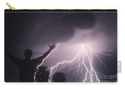 Man With Lightning, Arizona Carry-all Pouch