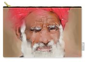 Man With Red Headwrap Carry-all Pouch