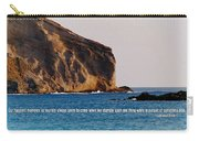 Manana Rabbit Island Quote Carry-all Pouch
