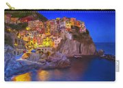 Manarola By Moonlight Carry-all Pouch