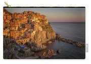 Manarola Dusk Cinque Terre Italy Carry-all Pouch