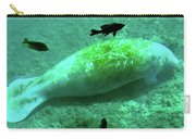 Manatee And Friends Viewed From Glass Bottom Boat At Silver Springs Carry-all Pouch