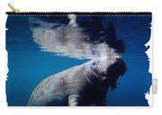 Manatee Mirror Image Carry-all Pouch