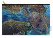 Manatee Motherhood Carry-all Pouch