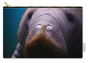 Manatee Mustache Carry-all Pouch