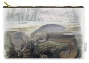 Manatees, Vulnerble Species Carry-all Pouch