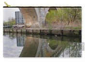 Manayunk Canal Bridge Reflection Carry-all Pouch