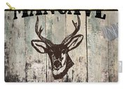 Mancave Deer Rack Carry-all Pouch