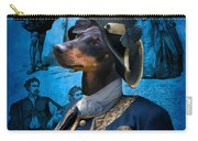 Manchester Terrier Art Canvas Print - Duc Carry-all Pouch