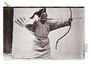 Manchu Archer, 1874 Carry-all Pouch