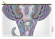 Mandala Elephant Indigo Carry-all Pouch