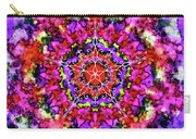Mandala Floral Red Purple Carry-all Pouch