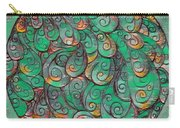 Mandala In Green Carry-all Pouch