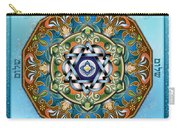 Mandala Shalom Carry-all Pouch by Bedros Awak