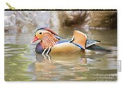 Mandarin Duck Swimming Carry-all Pouch