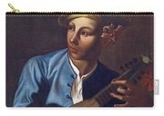 Mandolin Player Carry-all Pouch