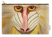 Mandrill Monkey Carry-all Pouch