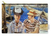 Manet: Boaters, 1874 Carry-all Pouch