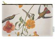Mango Humming Bird Carry-all Pouch