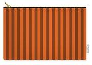 Mango Orange Striped Pattern Design Carry-all Pouch