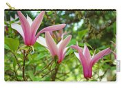 Mangolia Tree Flowers Art Prints Pink Magnolias Baslee Troutman Carry-all Pouch