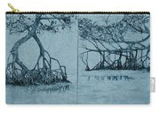Mangroves Carry-all Pouch by Leah  Tomaino